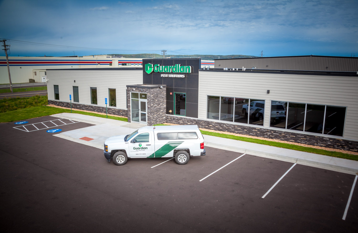 Guardian Pest Solutions' Superior, WI headquarters