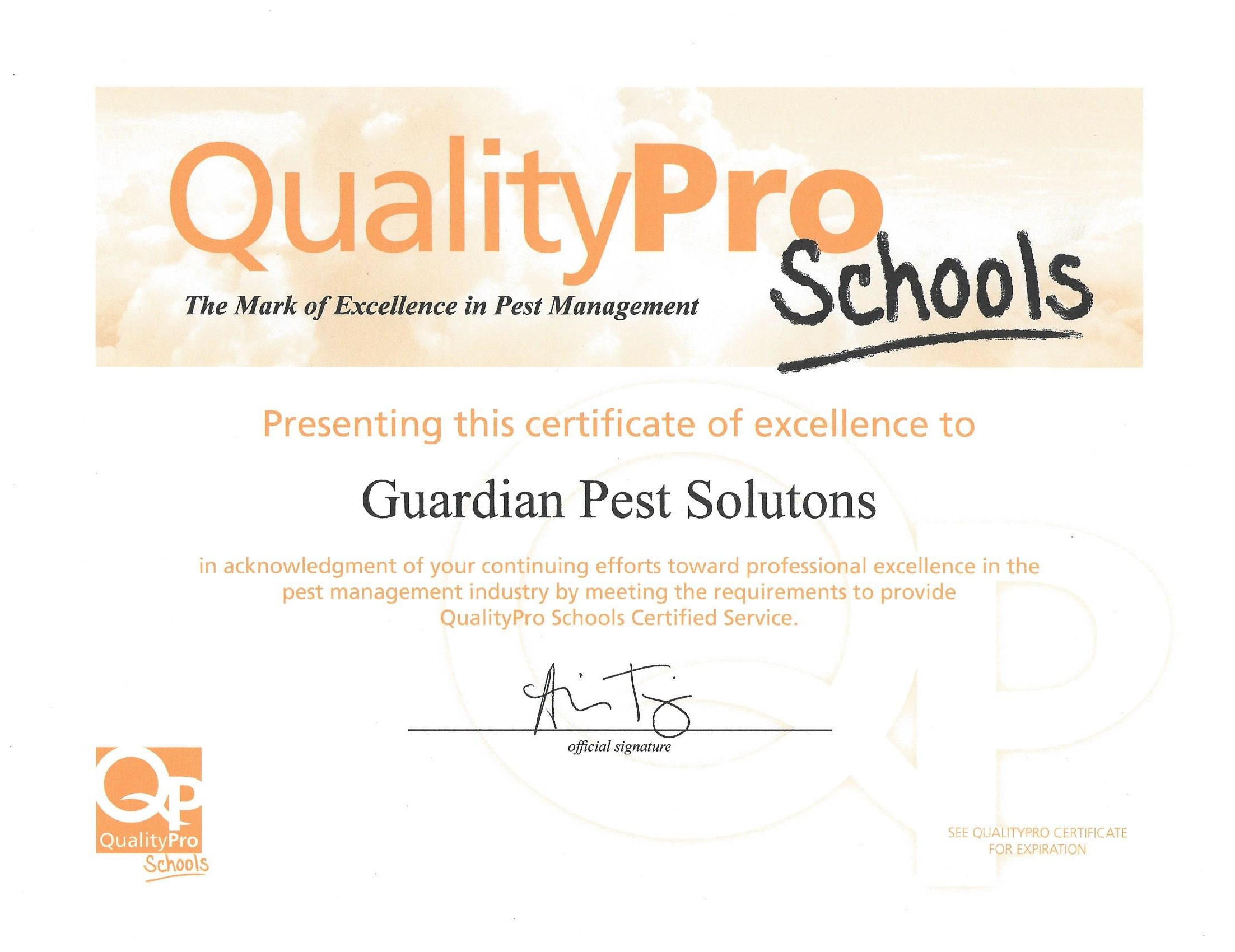 Why our pest control company guardian pest solutions business licenses 1betcityfo Image collections